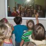 wycieczka przedszkolna w policji, policja, żory, szkoła nr 6, zespół szkolno przedszkolny nr 6 w żorach, żory, kleszczów, ul. pszczyńska,