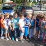 wycieczka przedszkolna w policji, policja, żory, szkoła nr 6, zespół szkolno przedszkolny nr 6 w żorach, żory, kleszczów, ul. pszczyńska, dzieci, dziecko