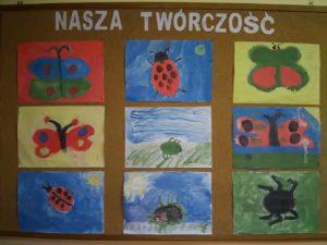 Malowanie owadów