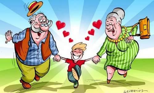 Dzień Babci I Dziadka W Grupie Krasnoludki Zespoł