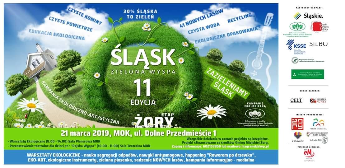 """Warsztaty ekologiczne i przedstawienie """"Rajska Wyspa"""""""