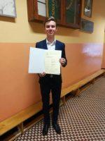 Laureat Wojewódzkiego Konkursu Przedmiotowego z Języka Polskiego