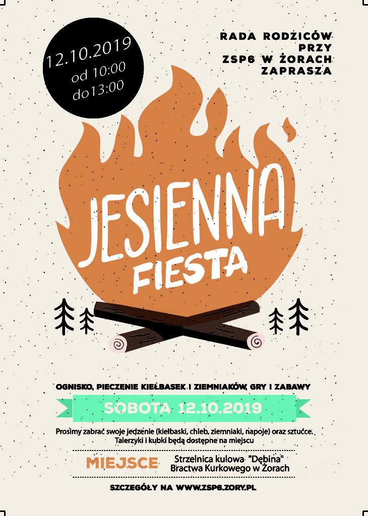 Jesienna fiesta Rada Rodziców ZSP6 Żory Kleszczów